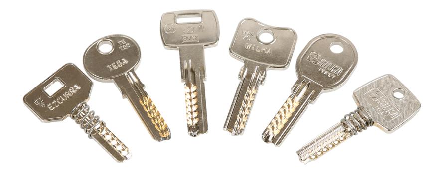 Cerrajeria for Tipos de llaves de puertas